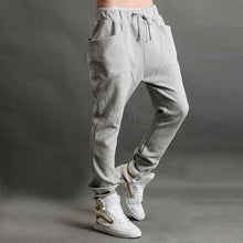 Drop  Jogger Dance Sportwear Baggy Harem Pants Casual Slacks Trousers Sweatpants US S M L  LZH7