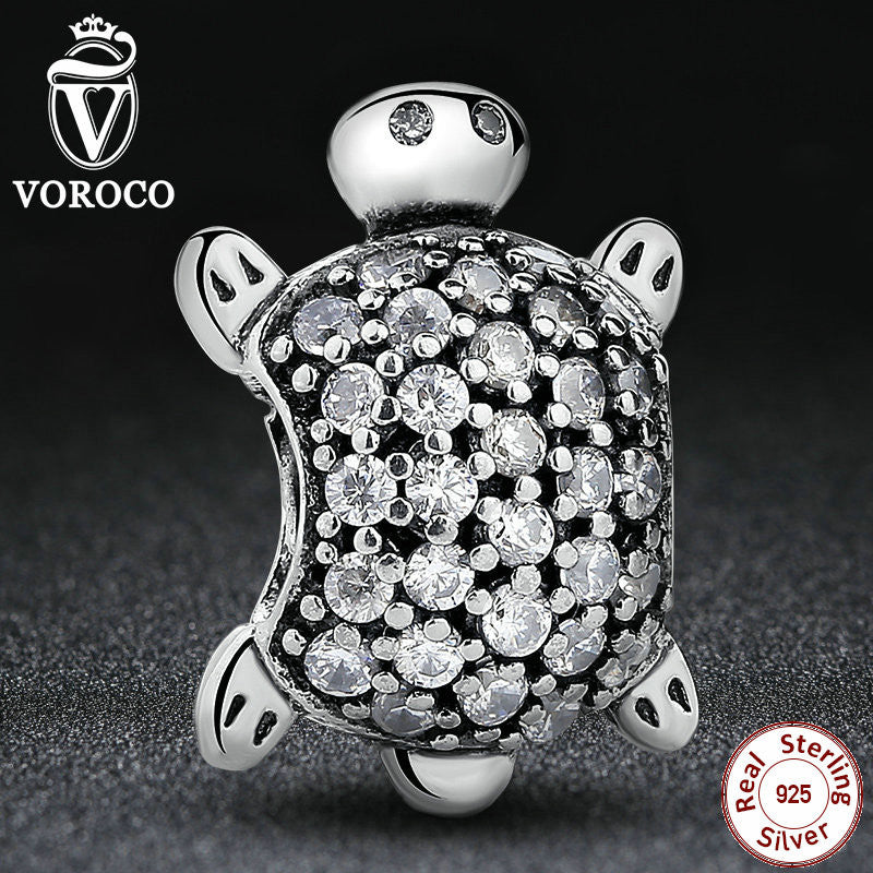 Sea Turtle Animal Charm Fit Pandora Original Bracelet DIY Accessories