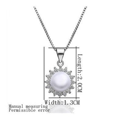 floating charms imitation pearl pendants imitation pearl beads multi-layer necklaces Factory
