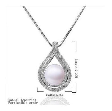 summer style simulated pearl pendants drop water imitation pearl collane bijoux femme
