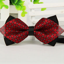 Classic Bow Tie    Adjustable Tuxedo Bowtie Wedding Party Ties Necktie