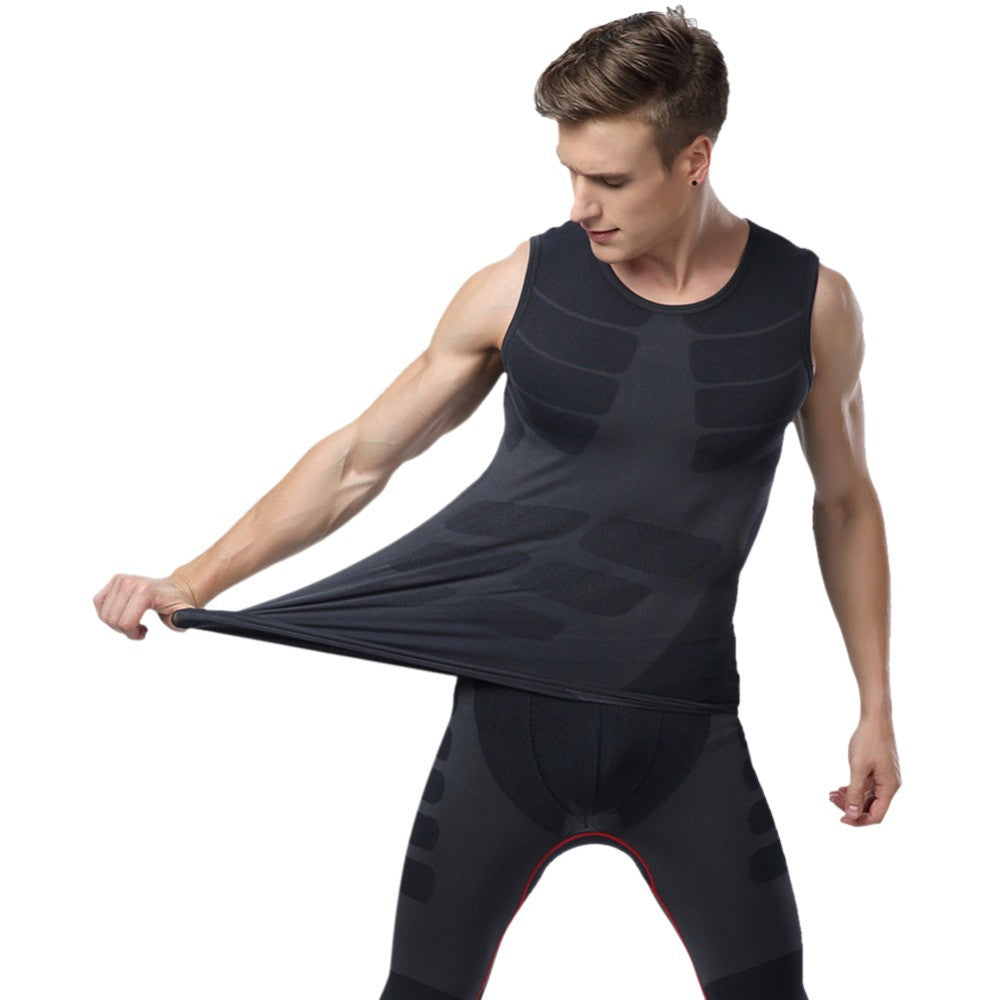 Compression Base Layer Bodybuiding Fitness Sleeveless Tight Shirt workout Tops Vest M-XL