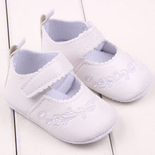 Kid Girl Pu Leather Princess Crib Shoes born Comfy Outdoor Baby Shoes 0-12M