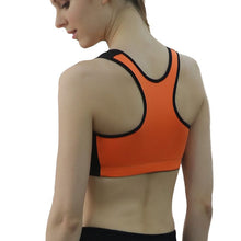 Fitness Workout Bra Top Zipper Front Padded Underwear Adjustable Strap Quick Dry Seamless Push Up Bras