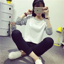 Plus Size   Loose Long Sleeve Casual Tops Sweatshirt Pullover JumpersHG