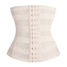 Plus Size L-5XL  Body Shaper Latex Rubber Waist Trainer Cincher Underbust Corset Shapewear