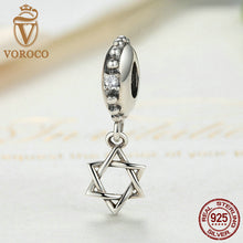 Authentic 925 Sterling Silver Polygon Pendant Charms Fit Pandora Women Bracelets & Bangles Fashion Jewelry S082