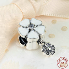 Hotsale 925 Sterling Silver Jewelry POETIC BLOOMS PENDANT Charms fit Pandora Bracelet Beads Jewelry Making S285
