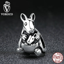 Popular 925 Sterling Silver KANGAROO Animal SILVER CHARM Pendant Charms fit Pandora Bracelet Beads & Jewelry Makings S370