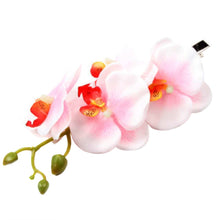 Butterfly Orchid Flower Hair Clip Barrette Pin Bridal Wedding Prom Party Hair Decoration