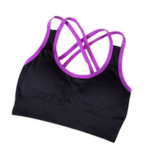 Quick Drying Shock Absorption Professional Body building Bra Tank Top Vest Fitness Seamless Vest