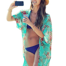 Swimwears Print Sexy Cover-ups  Beach Dress Swimwear Bikini Cover Up Blouses LZH7