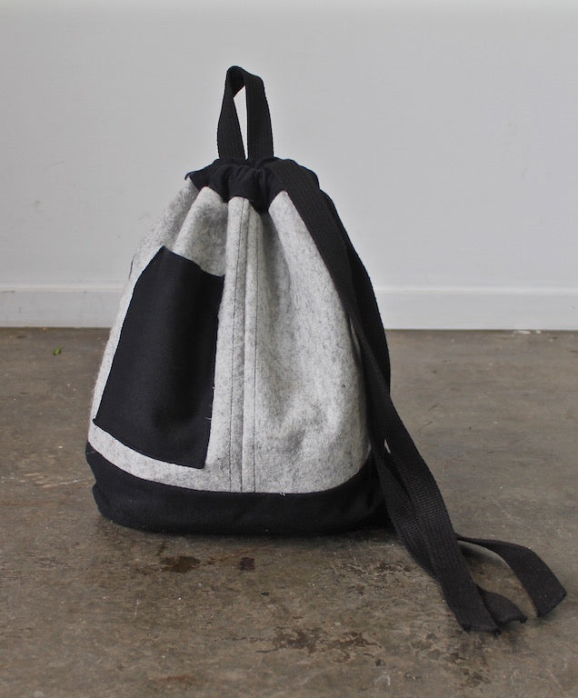 merino wool ~ day bag