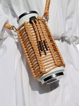 honeycomb ~ reusable drink bottle sling