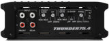 MTX Audio Thunder Series 400W RMS 4 Channel Amplifier - Thunder75.4