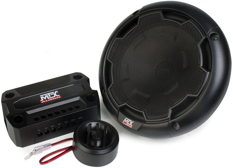 "MTX Audio THUNDER Series 90W RMS 6"" Component Speakers - THUNDER61"