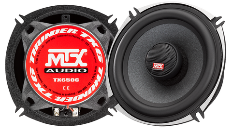 "MTX Audio TX6 Series 5.25"" Coaxial Speakers - TX650C"