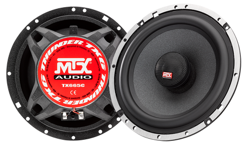 "MTX Audio TX6 Series 6.5"" Coaxial Speakers - TX665C"