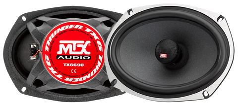 "MTX Audio TX6 Series 6x9"" Coaxial Speakers - TX669C"