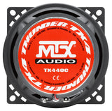 "MTX Audio TX4 Series 4"" Coaxial Speakers - TX440C"