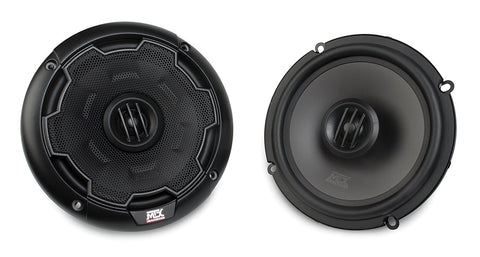 "MTX Audio THUNDER Series 60W RMS 6"" Coaxial Speakers - THUNDER65"