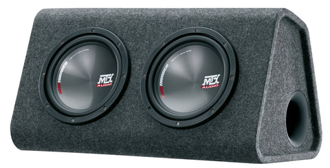 "MTX Audio RTP Series Powered Dual 8"" Subwoofer - RTP8x2"
