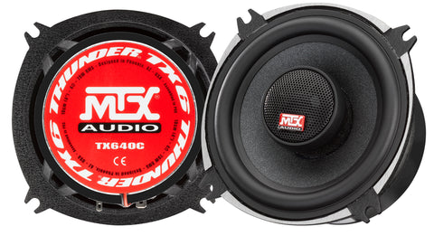 "MTX Audio TX6 Series 4"" Coaxial Speakers - TX640C"
