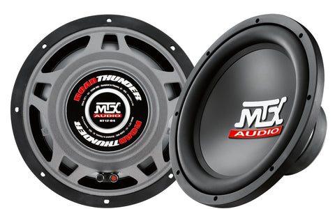 "MTX Audio RoadThunder 250W 12"" Subwoofer - RT12-04"