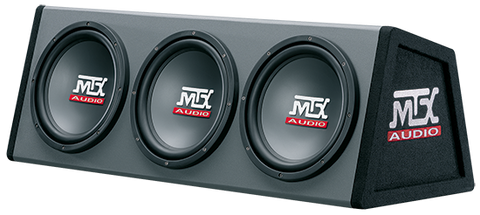 "Triple Sealed Enclosure 600W RMS (3 x 10"" Subwoofers) RT10X3DS"