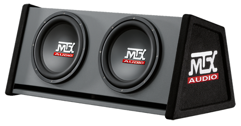 "Dual Slortported Enclosure 500W RMS (2 x 12"" Subwoofers) RT12X2DV"