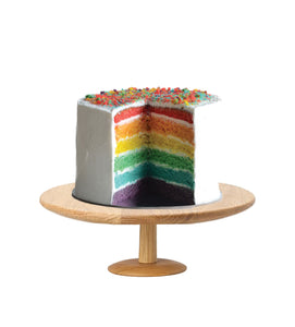Rainbow Cake Coated