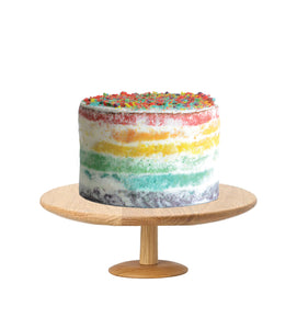 Rainbow Cake Semi Naked