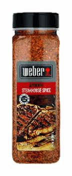 Weber Authentic Steakhouse Spice Jar 650g
