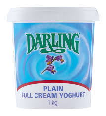 Yoghurt Plain Full-Cream 1KG