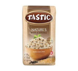 Tastic Brown and Wild Rice 1Kg