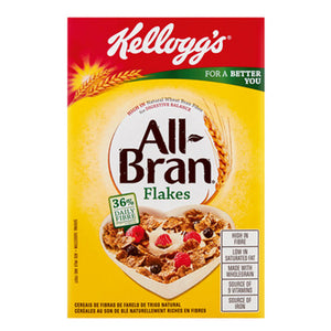 Kellog's All Bran Flakes Cereal