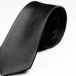 No. 58 Black Silk Tie