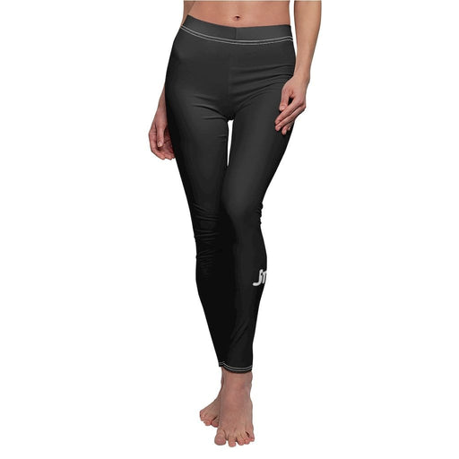 JT Leggings White Seams / M AIRLIFT LEGGING - BLACK yoga SoCal yoga clothing for women LA yoga clothing for you yoga poses yoga joy time joy time