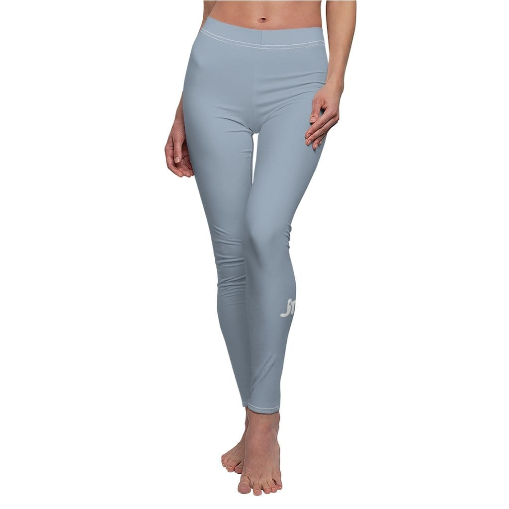 JT Leggings White Seams / M AIRLIFT LEGGING - BLUE JEAN yoga SoCal yoga clothing for women LA yoga clothing for you yoga poses yoga joy time joy time