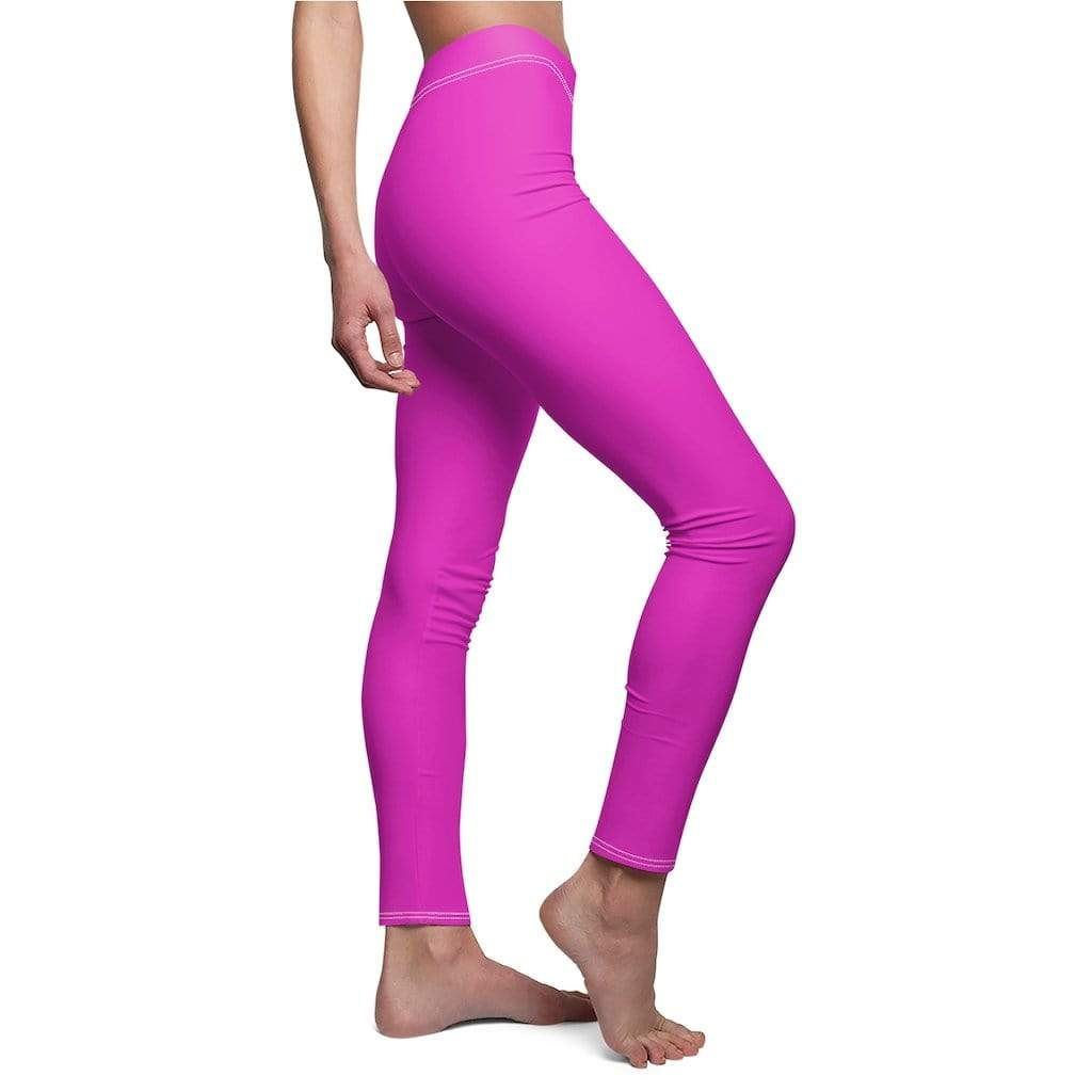 JT Leggings White Seams / M AIRLIFT LEGGING - PURPLE POP yoga SoCal yoga clothing for women LA yoga clothing for you yoga poses yoga joy time joy time