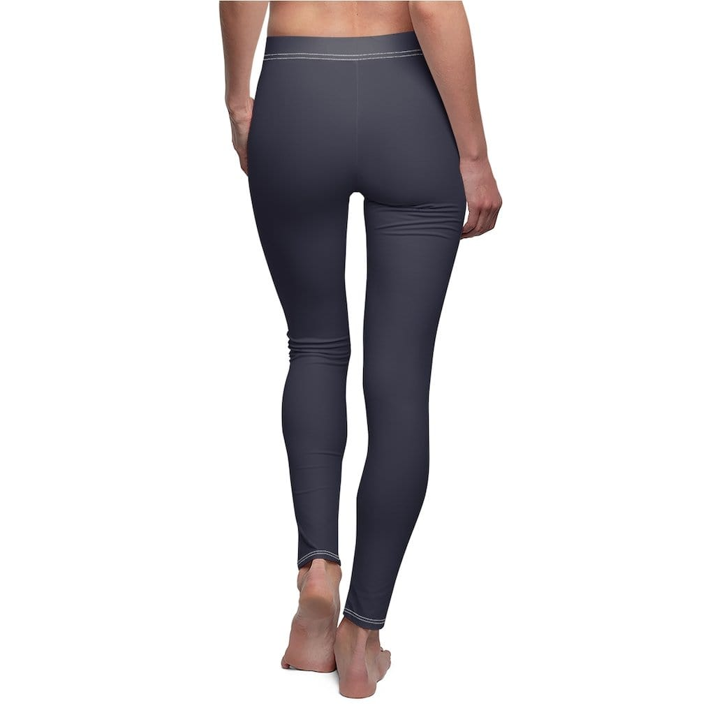 JT Leggings White Seams / M AIRLIFT LEGGING - RICH NAVY yoga SoCal yoga clothing for women LA yoga clothing for you yoga poses yoga joy time joy time