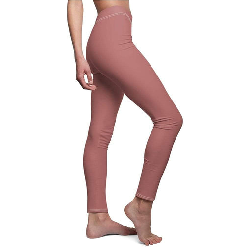 JT Leggings White Seams / M AIRLIFT LEGGING - ROSEWOOD yoga SoCal yoga clothing for women LA yoga clothing for you yoga poses yoga joy time joy time