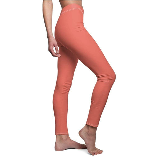 JT Leggings White Seams / M AIRLIFT LEGGING - STRAWBERRY yoga SoCal yoga clothing for women LA yoga clothing for you yoga poses yoga joy time joy time