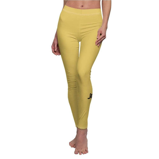 JT Leggings White Seams / M AIRLIFT LEGGING - SULPHUR yoga SoCal yoga clothing for women LA yoga clothing for you yoga poses yoga joy time joy time