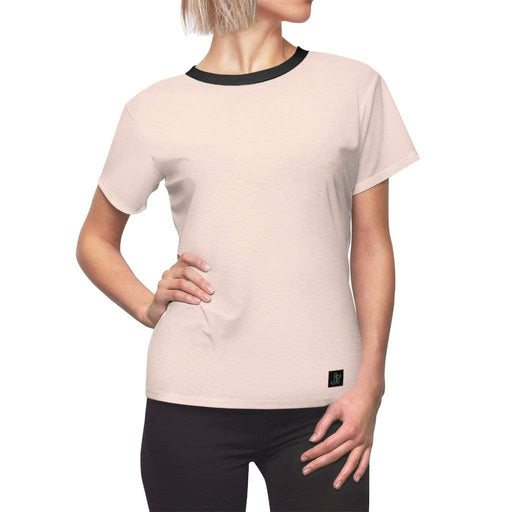 JT Short Sleeve L / White Seams / 4 oz. MOTION SHORT SLEEVE - NECTAR yoga SoCal yoga clothing for women LA yoga clothing for you yoga poses yoga joy time joy time