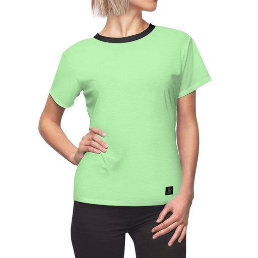 JT Short Sleeve L / White Seams / 4 oz. MOTION SHORT SLEEVE - NEON LIME yoga SoCal yoga clothing for women LA yoga clothing for you yoga poses yoga joy time joy time