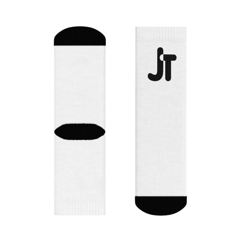 JT Socks 3/4 Crew Crew Socks yoga SoCal yoga clothing for women LA yoga clothing for you yoga poses yoga joy time joy time