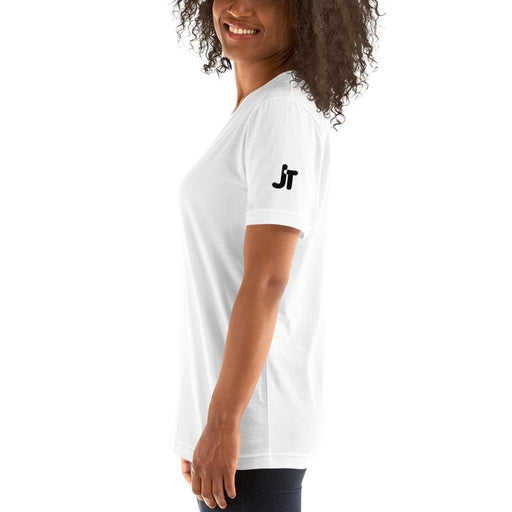 JT Tops Short-Sleeve T-Shirt yoga SoCal yoga clothing for women LA yoga clothing for you yoga poses yoga joy time joy time