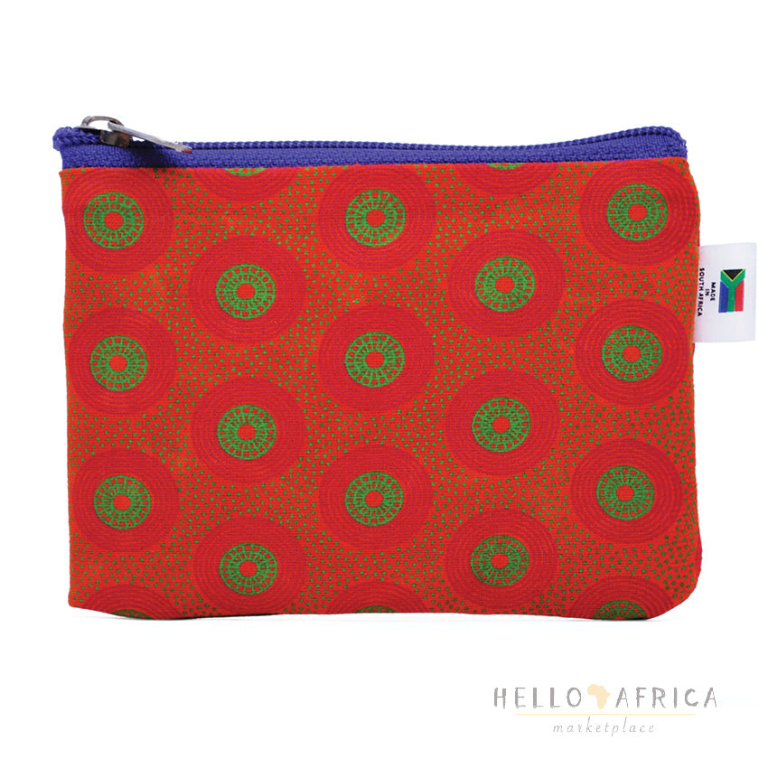 Shweshwe Multi Purpose Purse SMALL