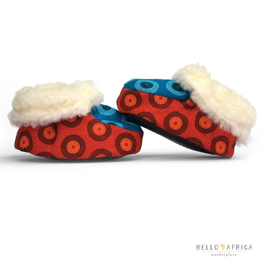 Kids Furry Slippers